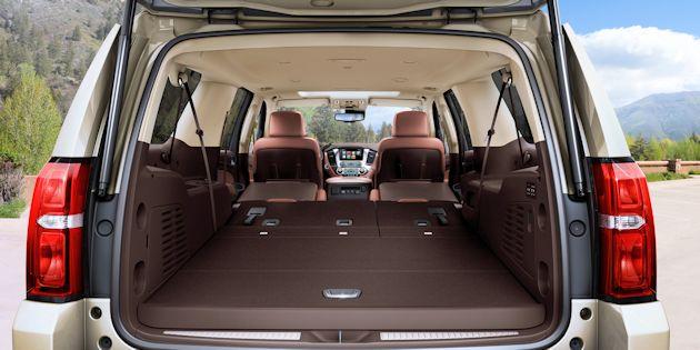 Full Size SUVs Suburban cargo