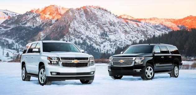 2015 General Motors Full Size SUVs Test Drive