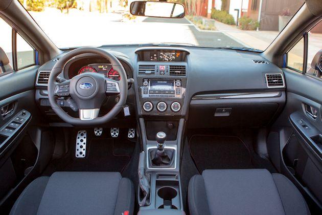 2015 Subaru WRX dash-no nav