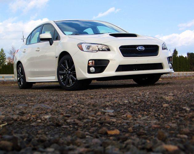 2015 Subaru WRX front low