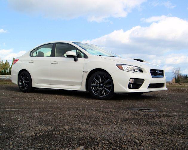 2015 Subaru WRX frontQ