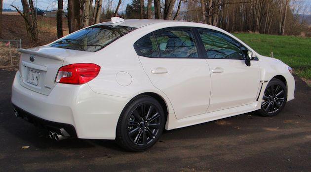 2015 Subaru WRX rearQ