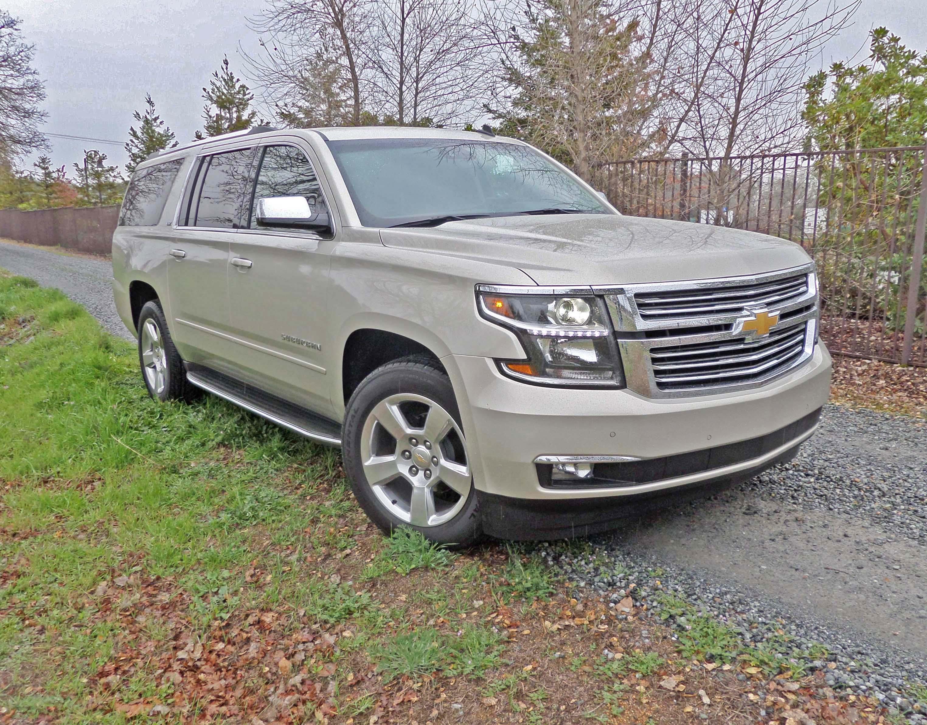2015 Chevrolet Suburban Test Drivenbsp