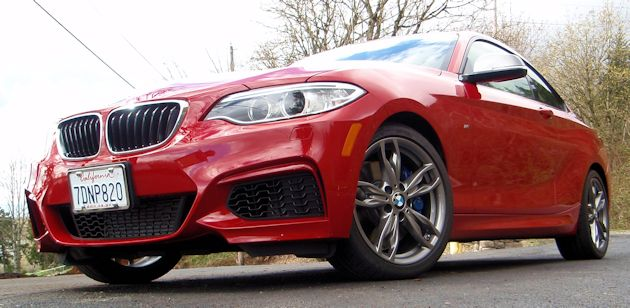 2014 BMW M235i front-low