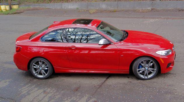 2014 BMW M235i side 2
