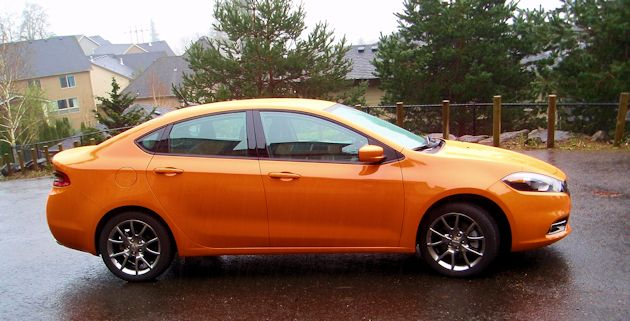 2014 Dodge Dart  Dash Side