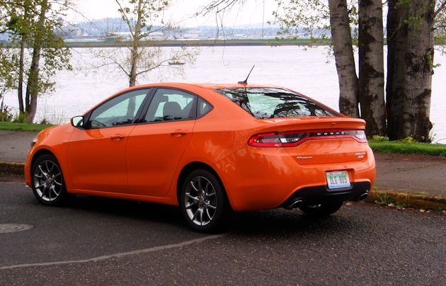 2014 Dodge Dart Rear