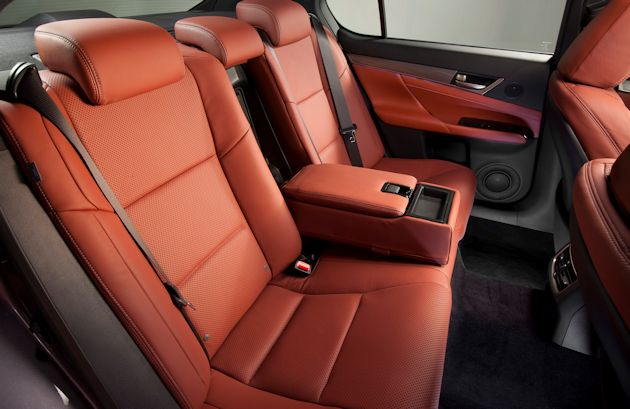 2014 Lexus GS--Rear Seat