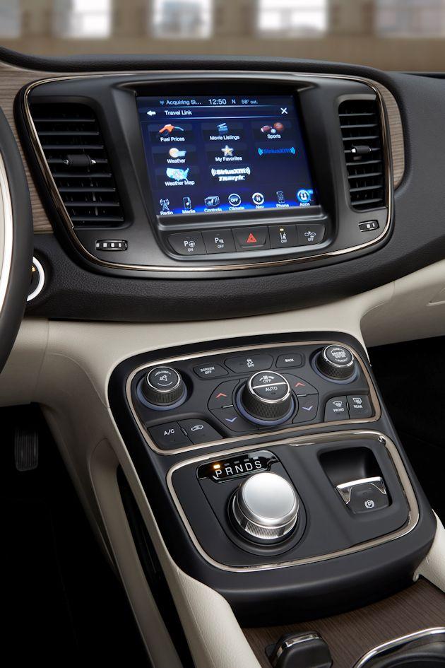 2015 Chrysler 200 center stack