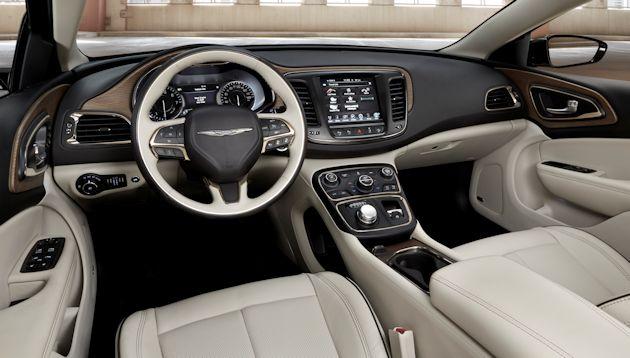 2015 Chrysler 200 dash