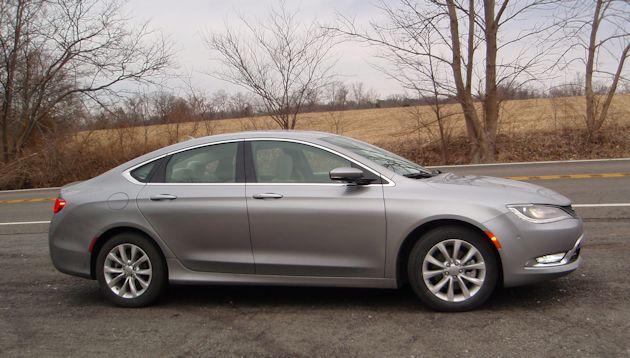 2015 Chrysler 200 side