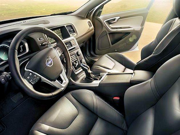 2015 Volvo S60 seats