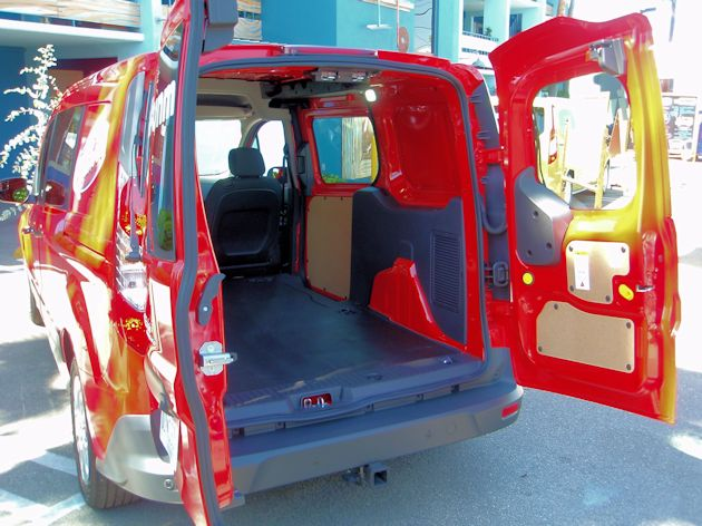 2014 Ford Transit Connect doors