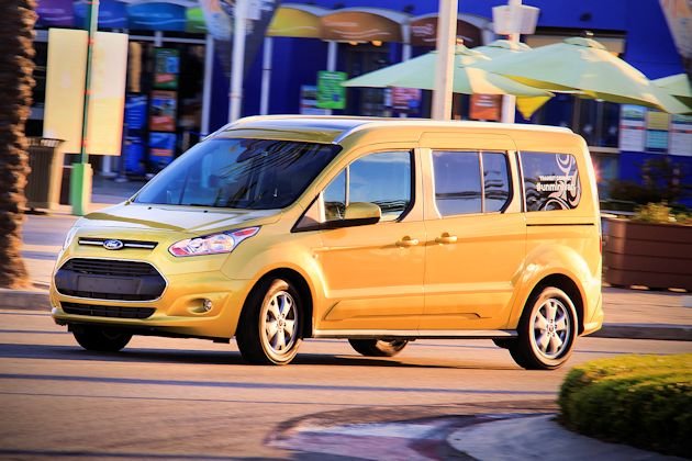 2014 Ford Transit Connect front Q
