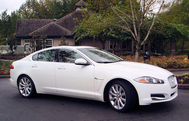 2014 Jaguar XF front Q