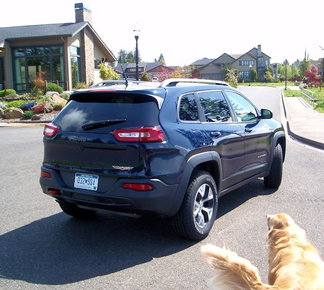 2014 Jeep Cherokee rear