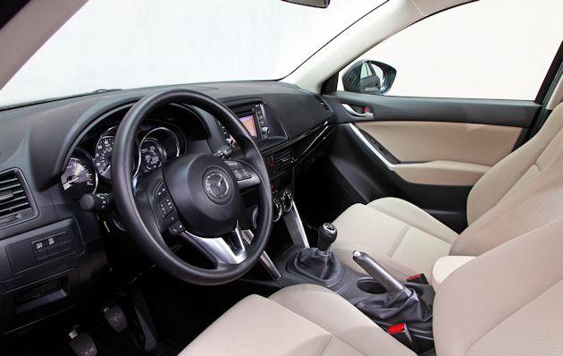 2014 Mazda CX-5 interior