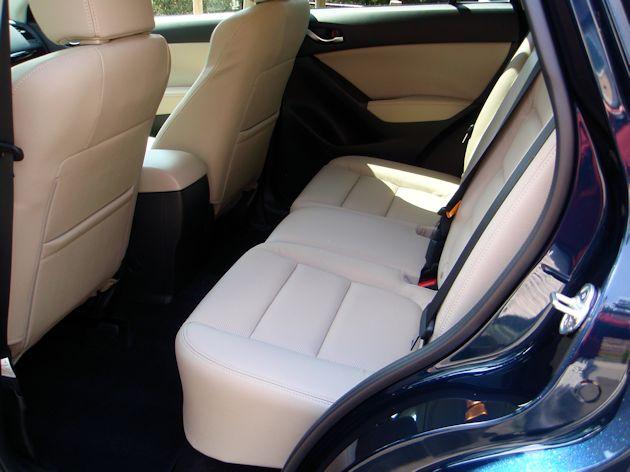 2014 Mazda CX-5 rear seat