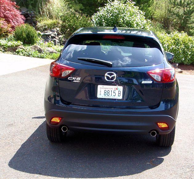 2014 Mazda CX-5 rear