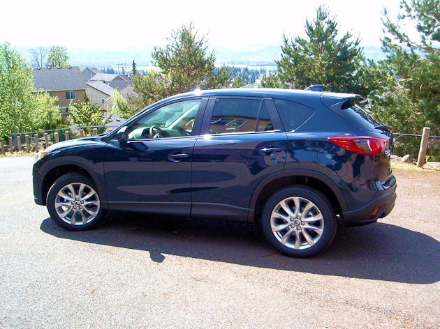 2014 Mazda CX-5 side 2