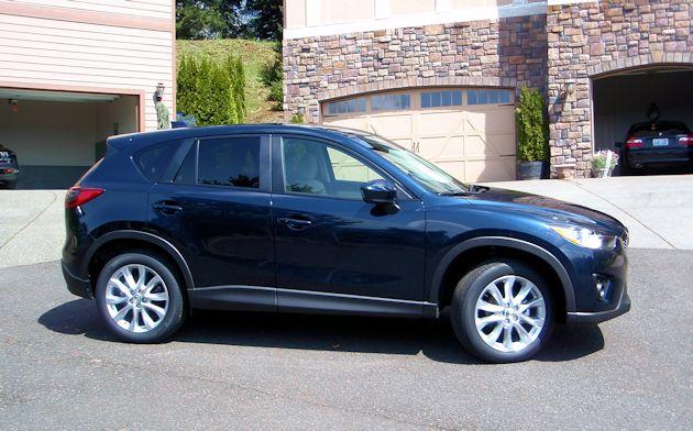 2014 Mazda CX-5 side