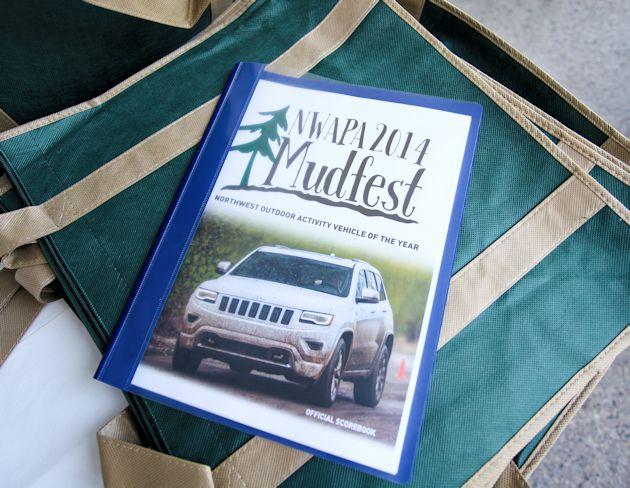2014 Mudfest Official Scorebook
