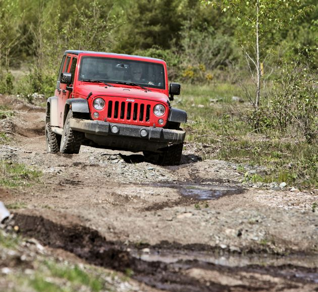 Mudfest OR-Jeep Wrangler Unlimited