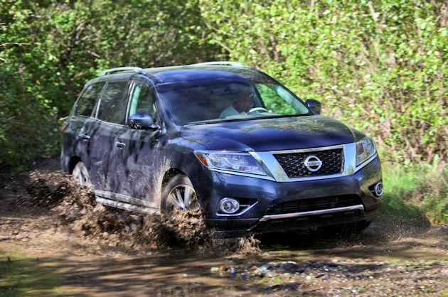 Mudfest OR-Nissan Pathfinder