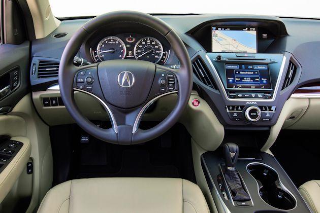 2014 Acura MDX dash