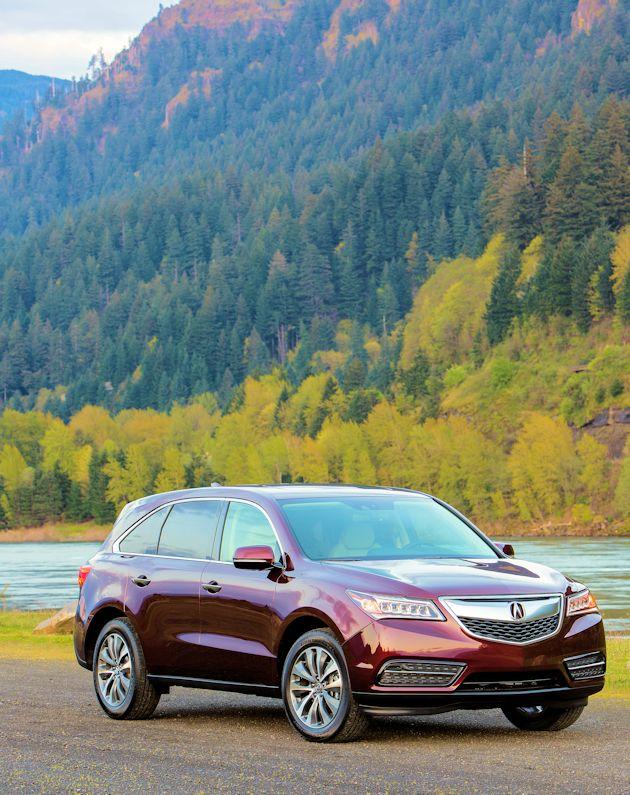 2014 Acura MDX front q