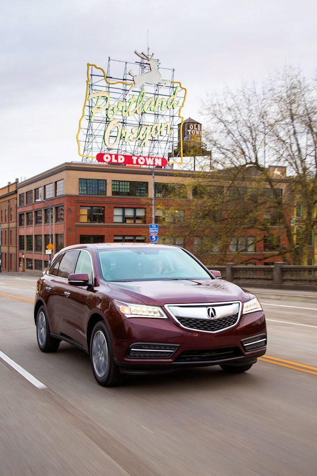 2014 Acura MDX moving