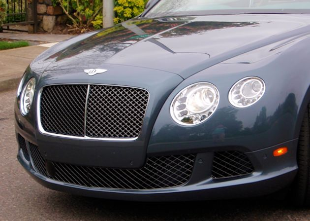 2014 Bentley Continental GT grille