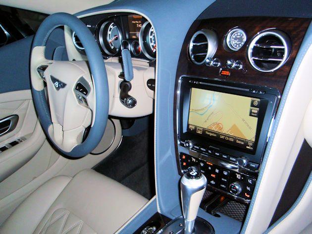 2014 Bentley Continental GTC dash2