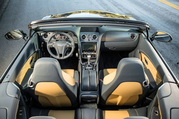 2014 Bentley Continental GTC down on