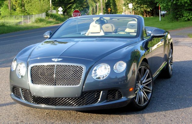 2014 Bentley Continental GTC front