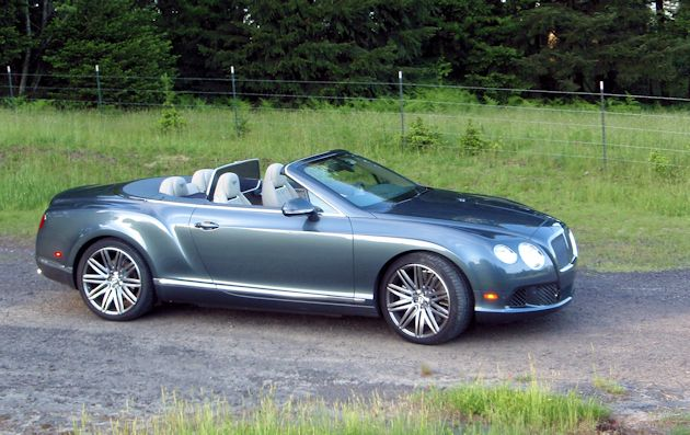 2014 Bentley Continental GTC side