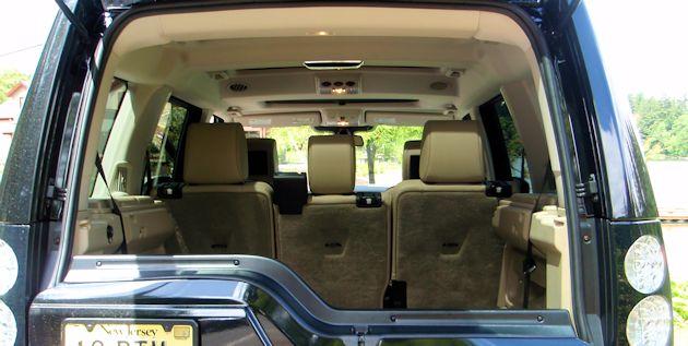 2014 Land Rover LR4 cargo