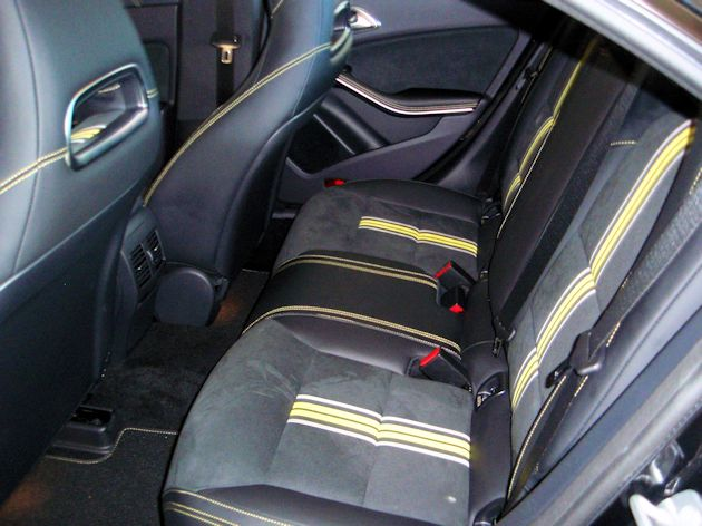 2014 Mercedes-Benz CLA rear seat