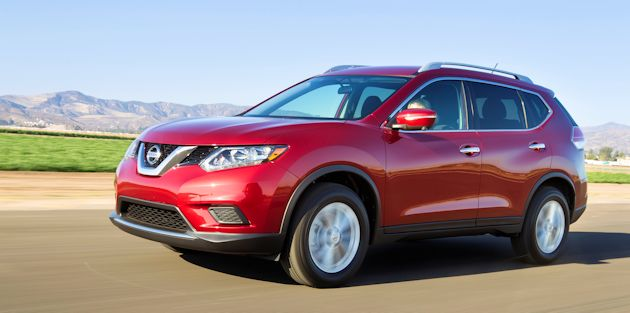 2014 Nissan Rogue front q