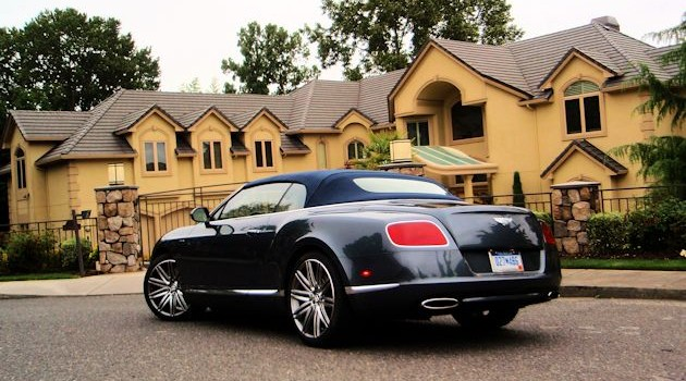 2014 Bentley Continental GT Speed Convertible Test Drive