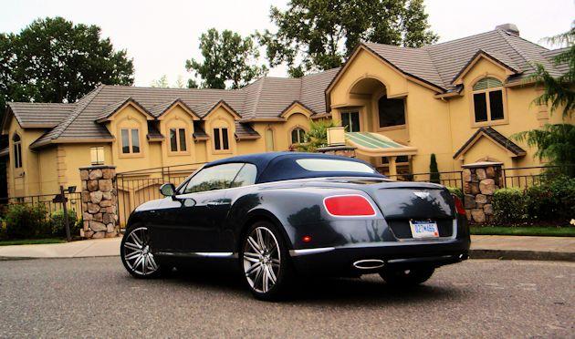 2014 Bentley Continental GT Speed Convertible Test Drive