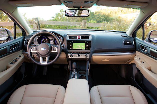 2015 Subaru Legacy dash