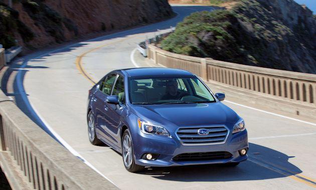 2015 Subaru Legacy front 2