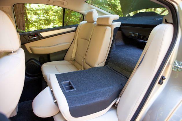 2015 Subaru Legacy rear seat