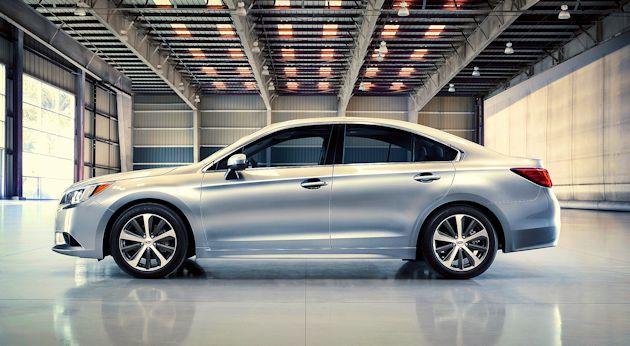 2015 Subaru Legacy side 2