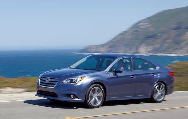 2015 Subaru Legacy side