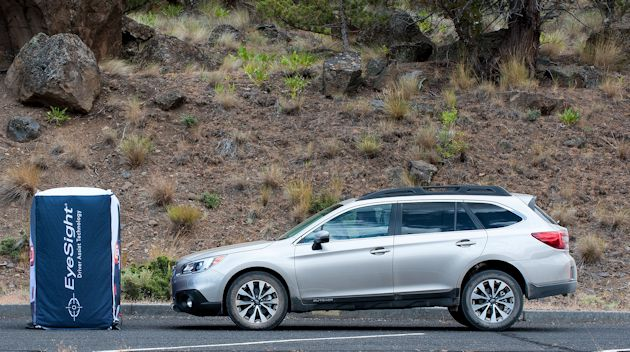 2015 Subaru Outback EyeSight demo