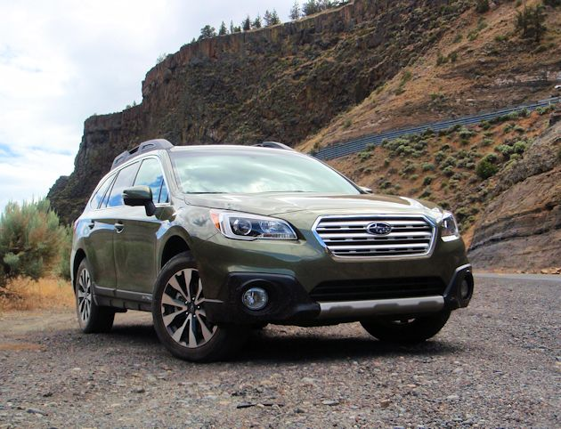 2015 Subaru Outback front 2