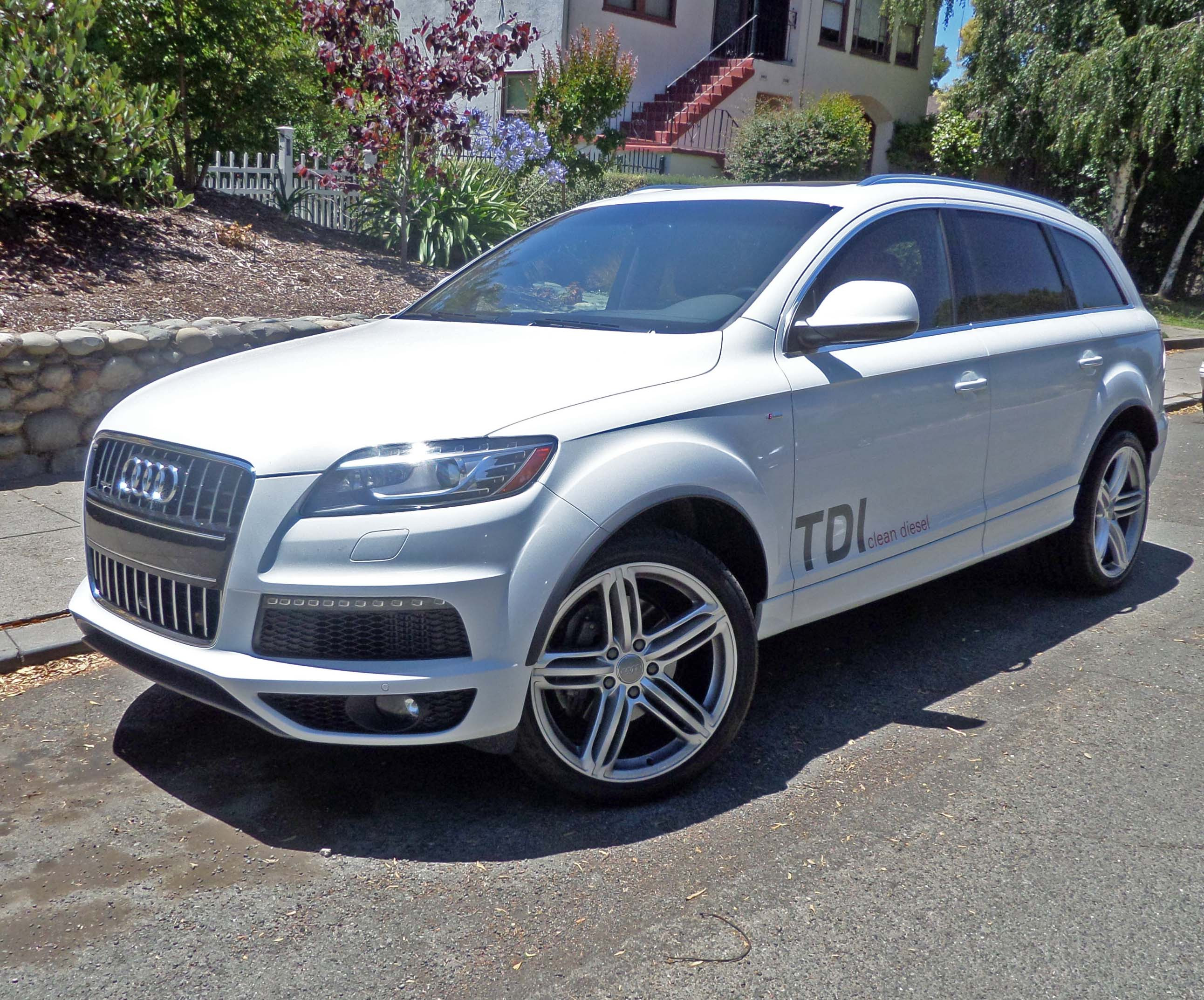 2014 audi q7 tdi test drive our auto expert. Black Bedroom Furniture Sets. Home Design Ideas