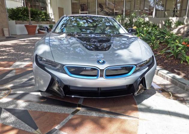 BMW-i8-Nose